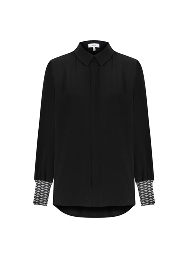 Ipekyol Gömlek Siyah